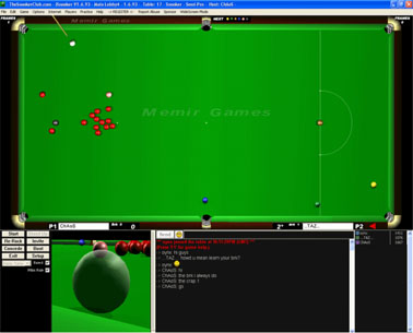 online snooker multiplayer