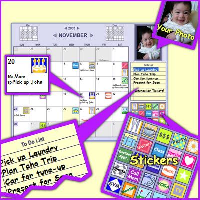 calendars. Monkeymen Calendar, photo