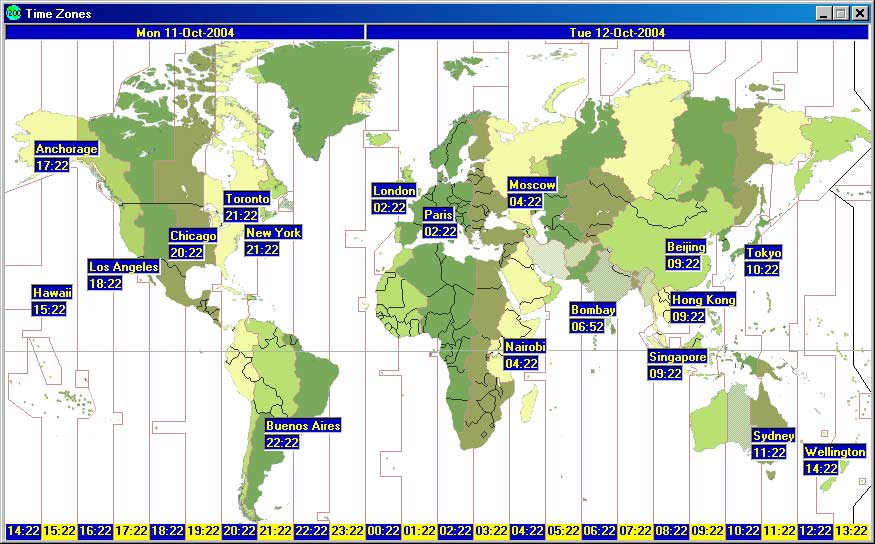 World clock displays times in various cities around the world gumiabroncs Images